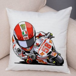 Housse de coussin moto gp Andrea Dovizioso 04
