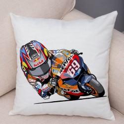 Housse de coussin moto gp Nicky Hayden 69