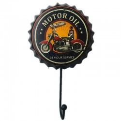Porte manteau vintage moto