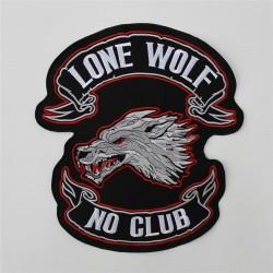 Ecusson LONE WOLF