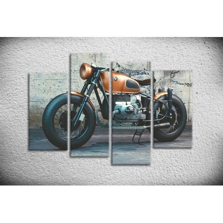 Tableau de moto type BMW sur toile