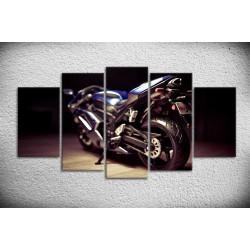 Tableau Yamaha R1 sur toile